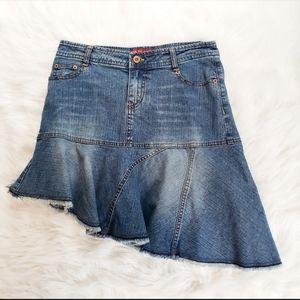U.S. Polo Assn. Asymmetrical Denim Skirt